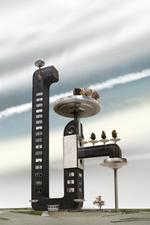 David Trautrimas: Coffee Pot Towers, 2008