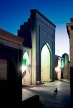 Frank Ward: Mosque, Khiva, Uzbekistan, 2010