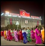 Hiroshi Watanabe: Kim Il Sung's Birthday, Kim Il Sung Square, North Korea