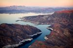 Jamey Stillings: Lake Mead Aerial VIew, February 3, 2010