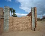 """Janice Levy: """"Brick Wall"""" Antananarivo, Madagascar"""