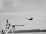 Jennifer Greenburg: Diving off the shores of Lake Michigan, 2012