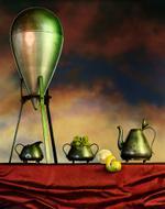 Jo Whaley: Atomic Tea Party, 1993