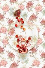 JP Terlizzi: Marchesa Camellia with Rhubarb