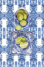 JP Terlizzi: Spode Blue Italian with Lime, 2019