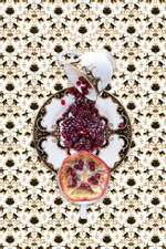 JP Terlizzi: Marchesa Baroque Night with Pomegranate, 2019