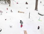 Julie Blackmon: Snow Days, 2021