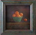 Kate Breakey: Mandarines in Blue Vas, 2020