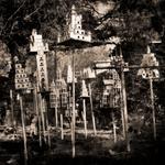 Keith Carter: Full Length Birdhouses