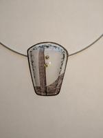 Light and Metal: Nissa Kubly, Enamel Necklace I