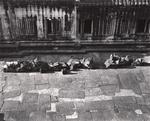 Elvira Piedra: Courtyard, Angkor Wat, Cambodia, 2002