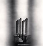 Michael Kenna: The Rouge, Study 109, Dearborn, Michigan, USA, 1993