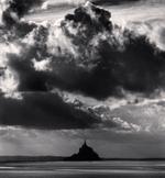 Michael Kenna: November Clouds, Mont St. Michel, France, 2000