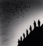 Michael Kenna: One Hundred and Four Birds, Prague, Czechoslovakia, 1992