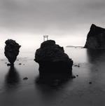 Michael Kenna: Rock Formations, Study 1, Yoichi, Hokkaido, Japan, 2002