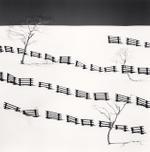 Michael Kenna: Thirty One Snow Fences, Bihoro, Hokkaido, Japan, 2016