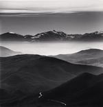 Michael Kenna: Mountain Road, Calascio, Abruzzo, Italy, 2016