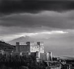 Michael Kenna: Piccolomini Castle, Celano, Abruzzo, Italy, 2016
