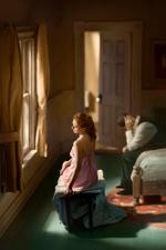 Richard Tuschman: Pink Bedroom (Window Seat), 2013