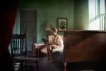 Richard Tuschman: Woman Reading, 2013