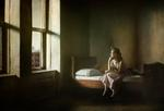 Richard Tuschman: Woman and Man On A Bed, 2012