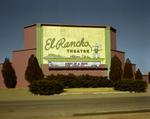 Steve Fitch: El Rancho Drive-in theater, Dalhart, Texas, January 9, 1981