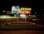 Steve Fitch: Arrow Motel, Highway 84, Espanola, New Mexico, March 23, 1982