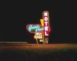 Steve Fitch: Grandview Motel, Raton, New Mexico; December 18, 1980