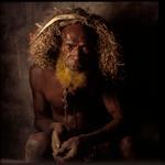 William Coupon: New Guinea Tribesman II, Mendi Highlands, June, 1991