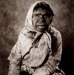 William Coupon: Aboriginal Woman with Scarf, Utopia Station, Australia, 1980