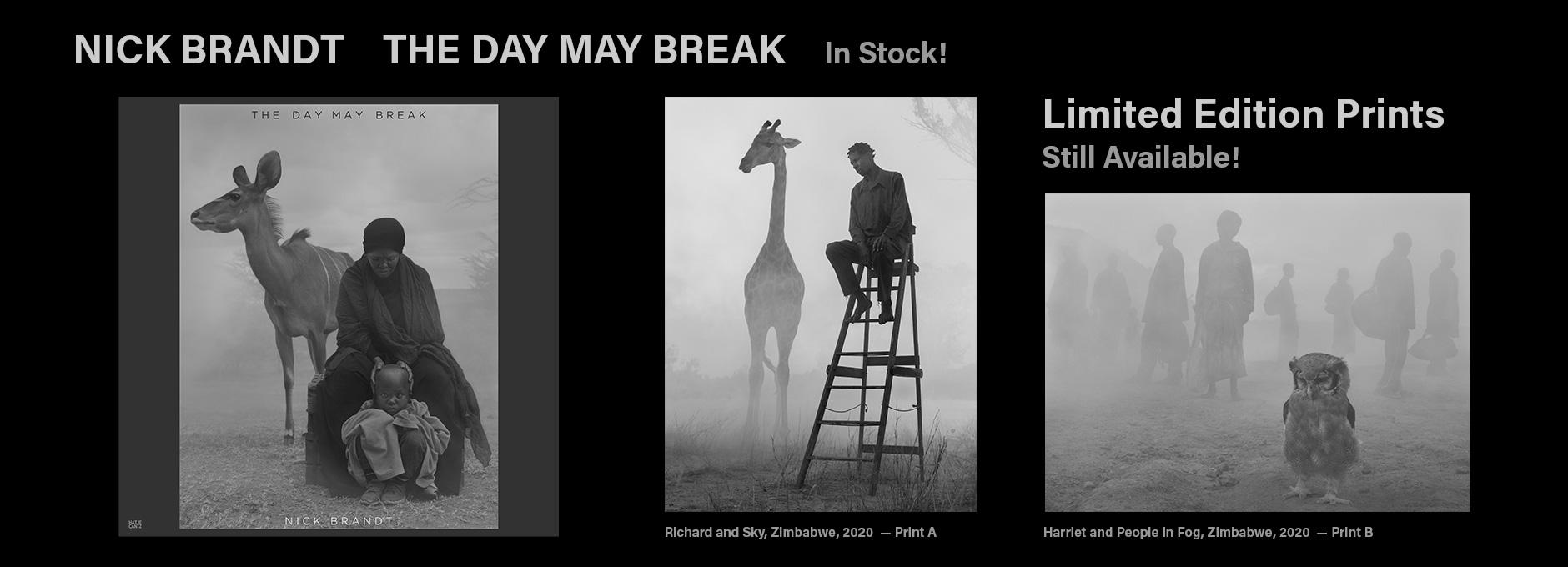The Day May Break - Nick Brandt